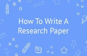 How write research proposal